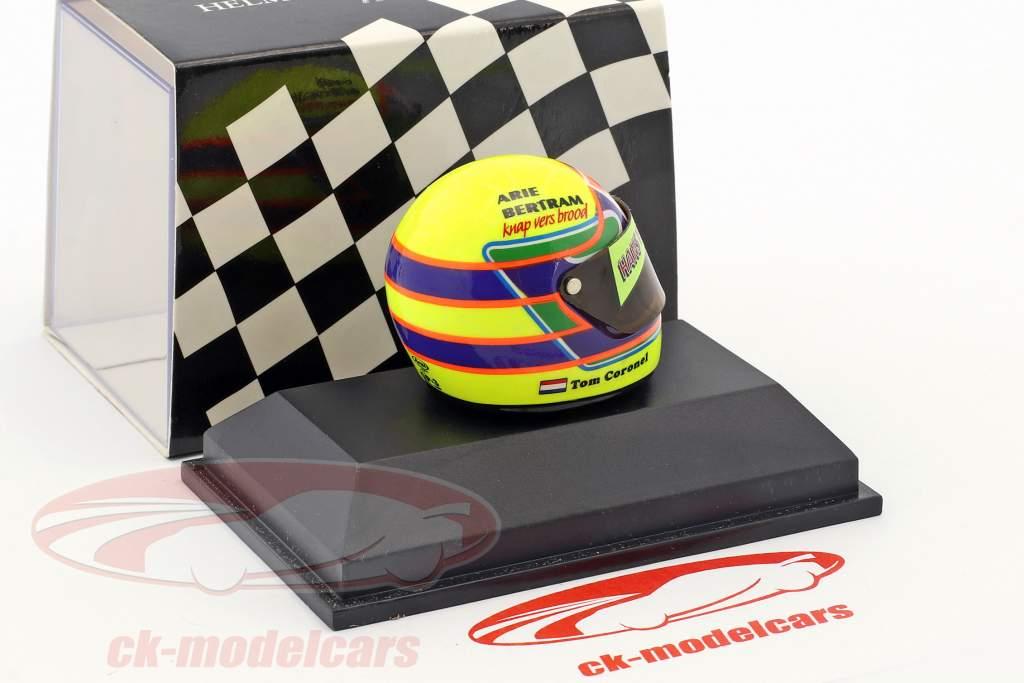 Tom Coronel helmet 1:8 Minichamps