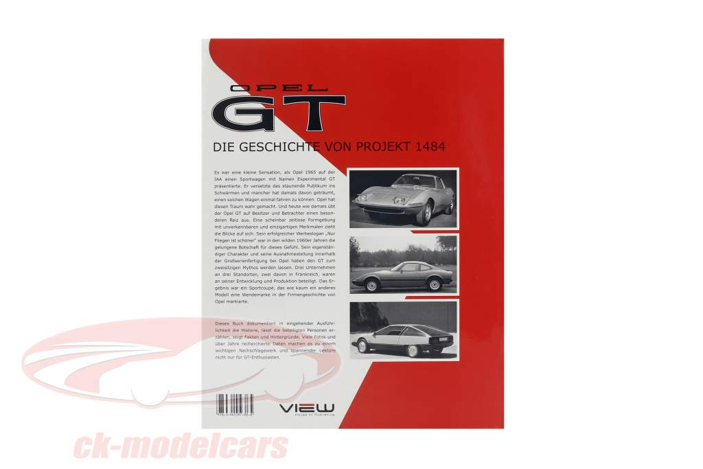 libro: Opel GT - Die Geschichte von Projekt 1484 di Stefan Müller