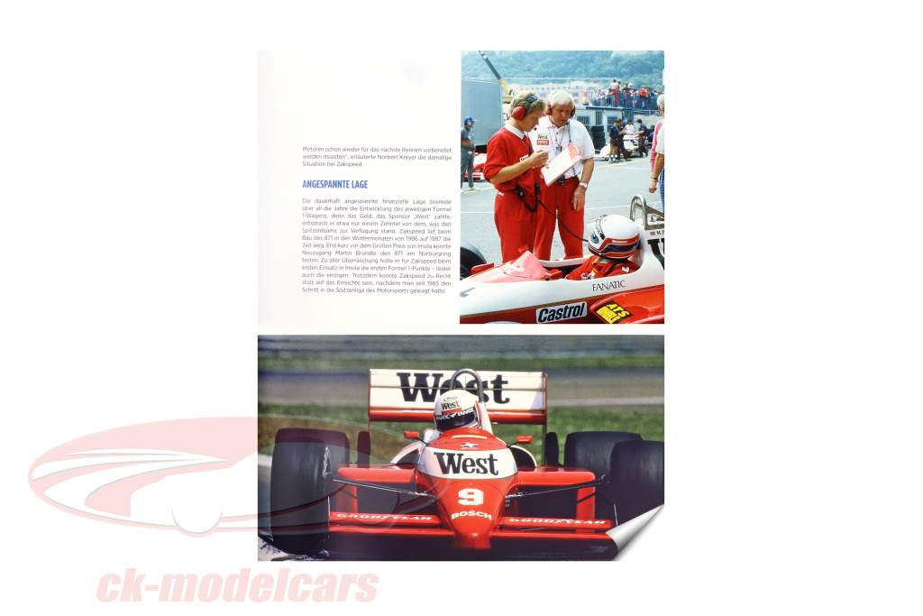 Buch: Zakspeed... more than just a racing team from Christian Reinsch