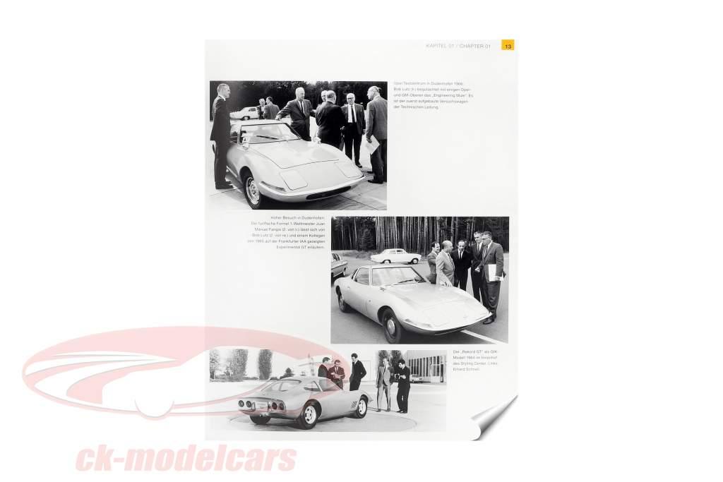 livre: Opel GT Motorsport 1968-1975 de M. van Sevecotte / D. Kurzrock / S. Müller