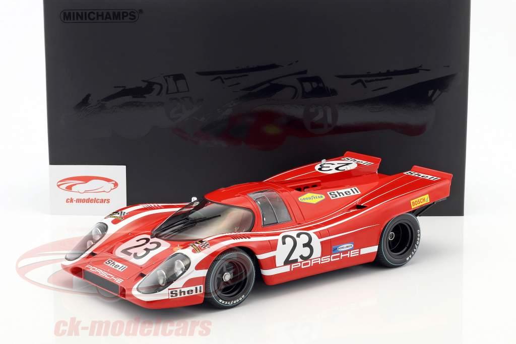 Porsche 917K #23 gagnant 24h LeMans 1970 Attwood, Herrmann 1:12 Minichamps