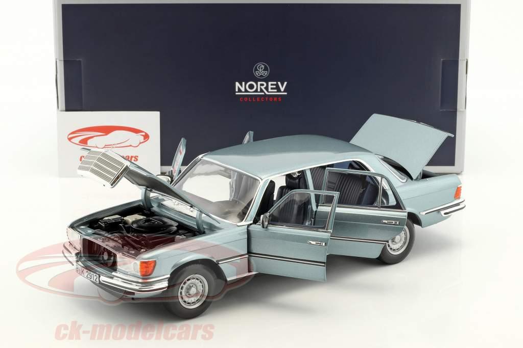 Mercedes-Benz 450 SEL 6.9 année de construction 1976 gris bleu métallique 1:18 Norev