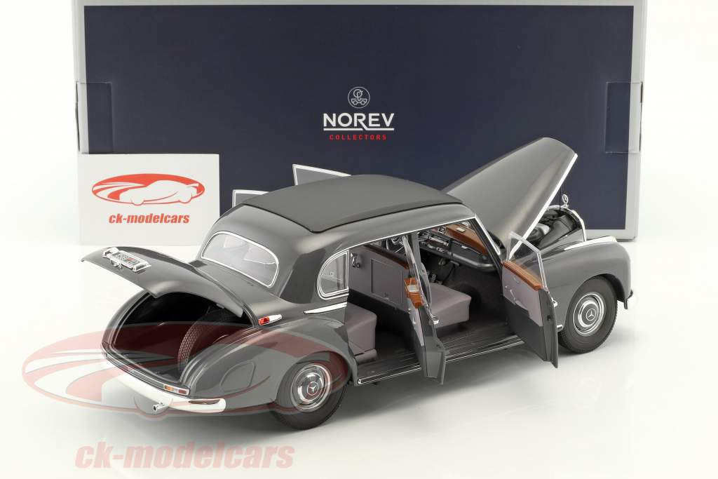 Mercedes-Benz 300 year 1955 dark gray 1:18 Norev