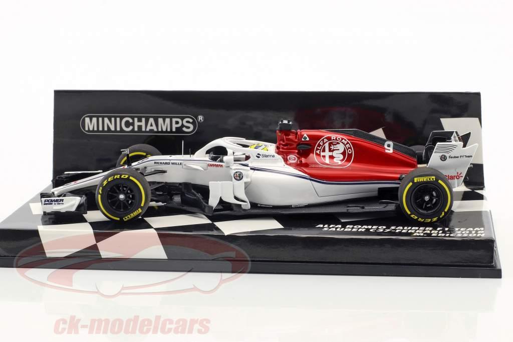 Marcus Ericsson Sauber C37 #9 formula 1 2018 1:43 Minichamps