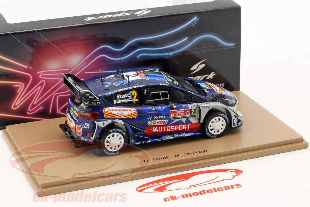 Ford Fiesta WRC #2 3rd Rally Great Britain 2017 Tänak, Järveoja 1:43 Spark