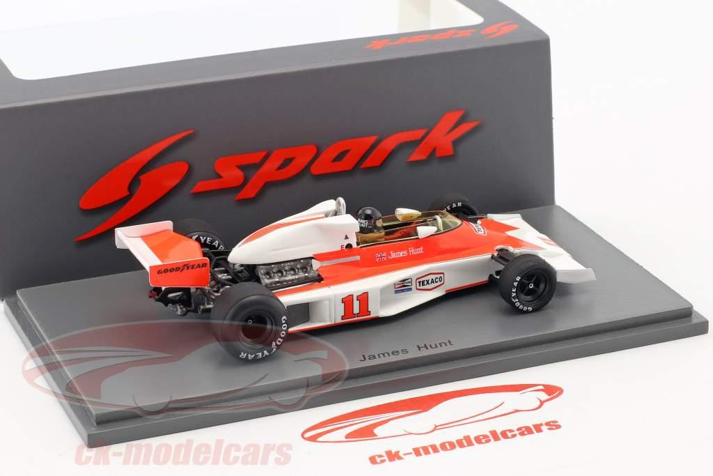 James Hunt McLaren M23 #11 Winner Frankreich GP Formel 1 1976 1:43 Spark