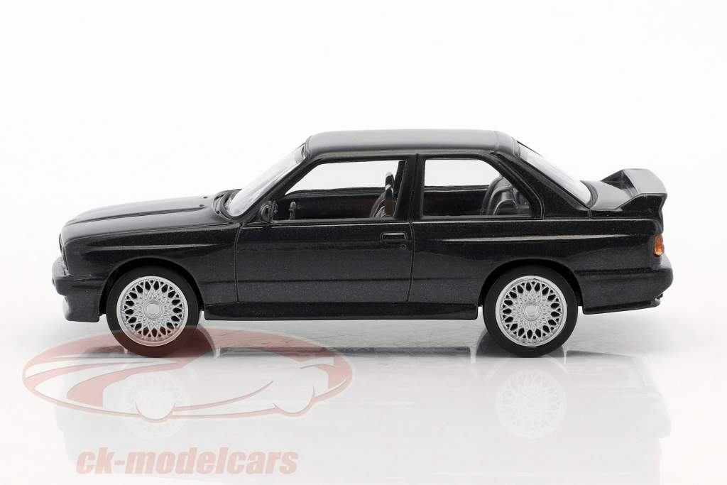 BMW M3 E30 année de construction 1986 Jet Car noir métallique 1:43 Norev