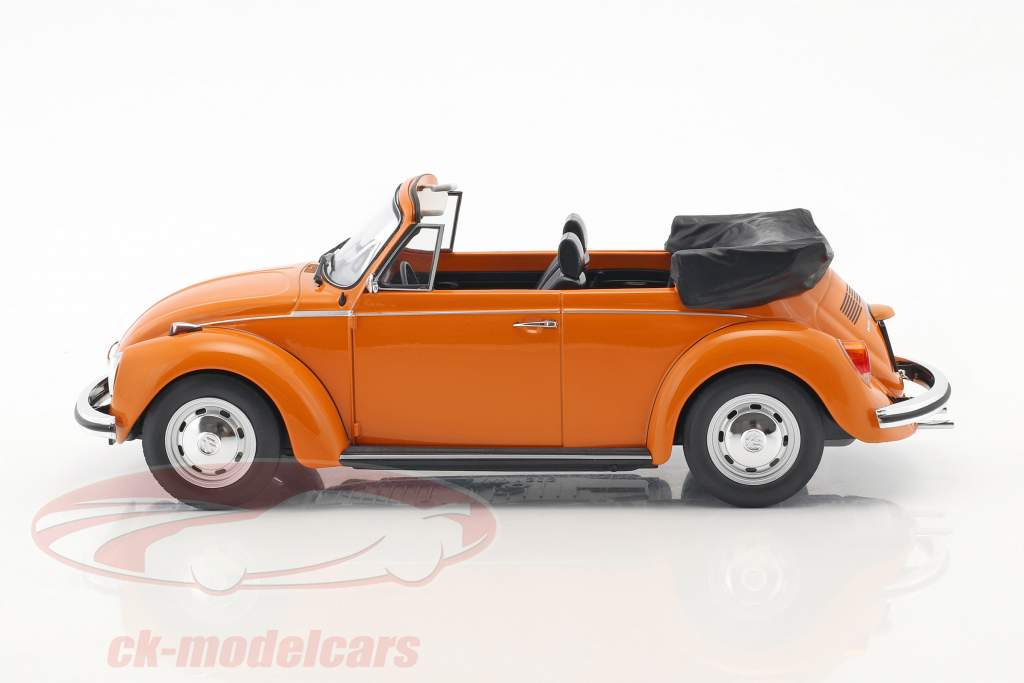 Volkswagen VW Beetle 1303 Cabriolet Construction year 1973 orange 1:18 Norev