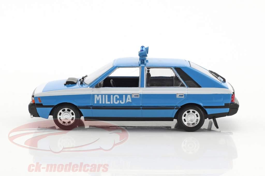 Polonez 1500 coupé police bleu clair / blanc 1:43 Altaya
