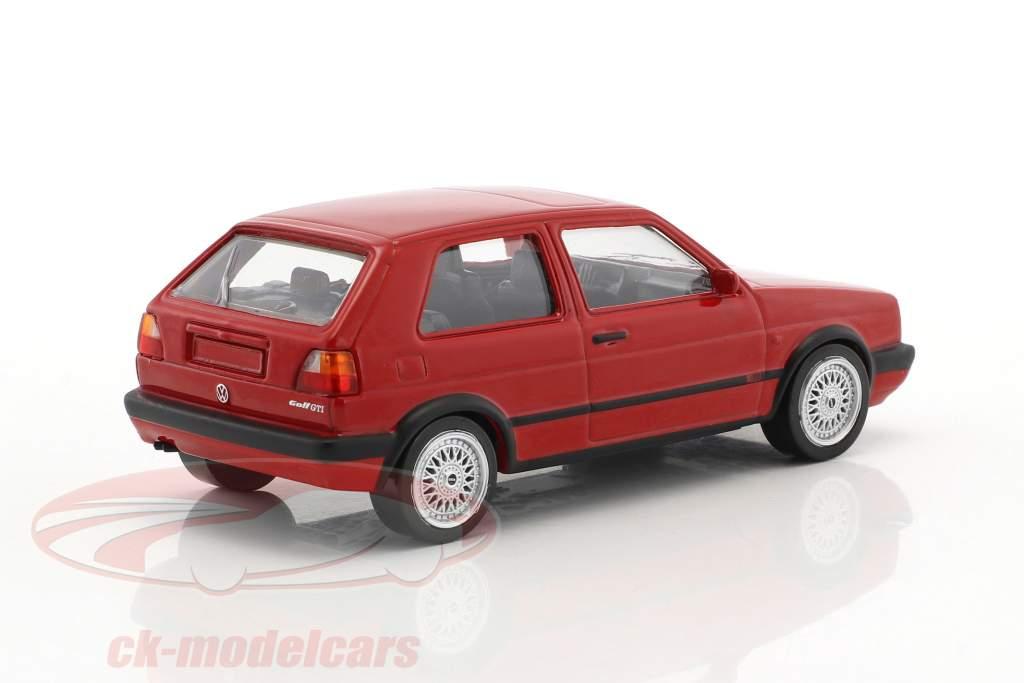 Volkswagen VW Golf GTI G60 year 1990 Jet Car red 1:43 Norev