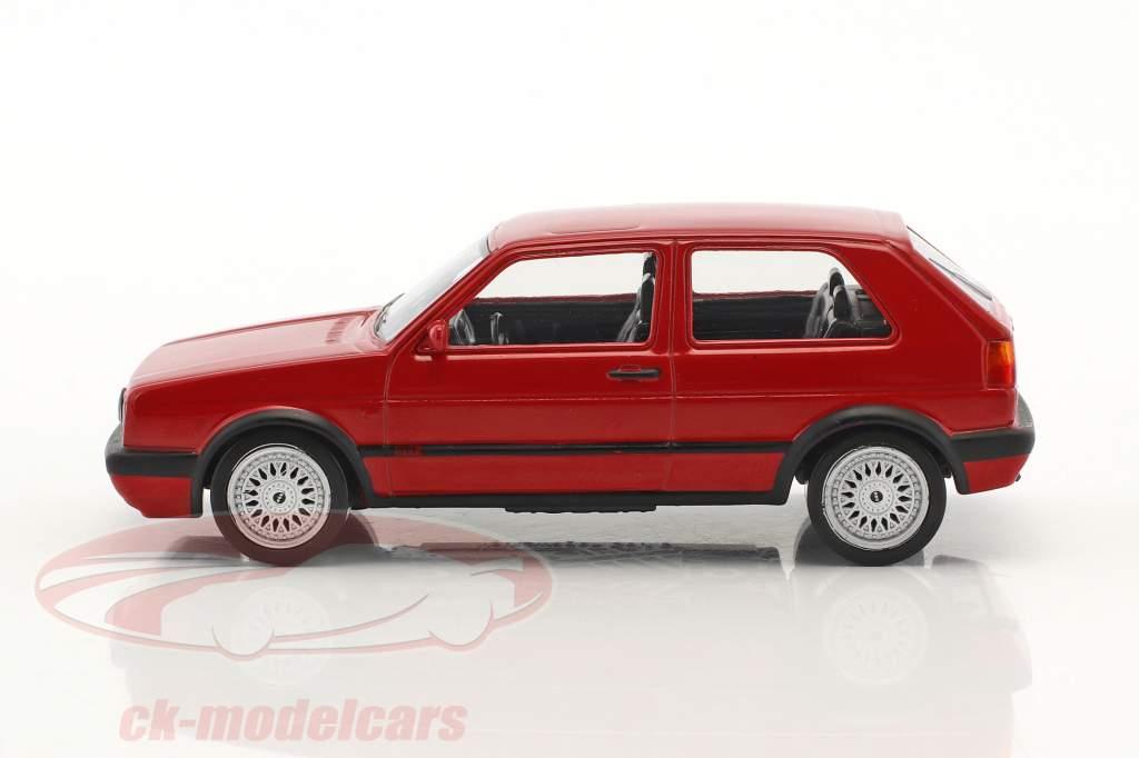 Volkswagen VW Golf GTI G60 année de construction 1990 Jet Car rouge 1:43 Norev
