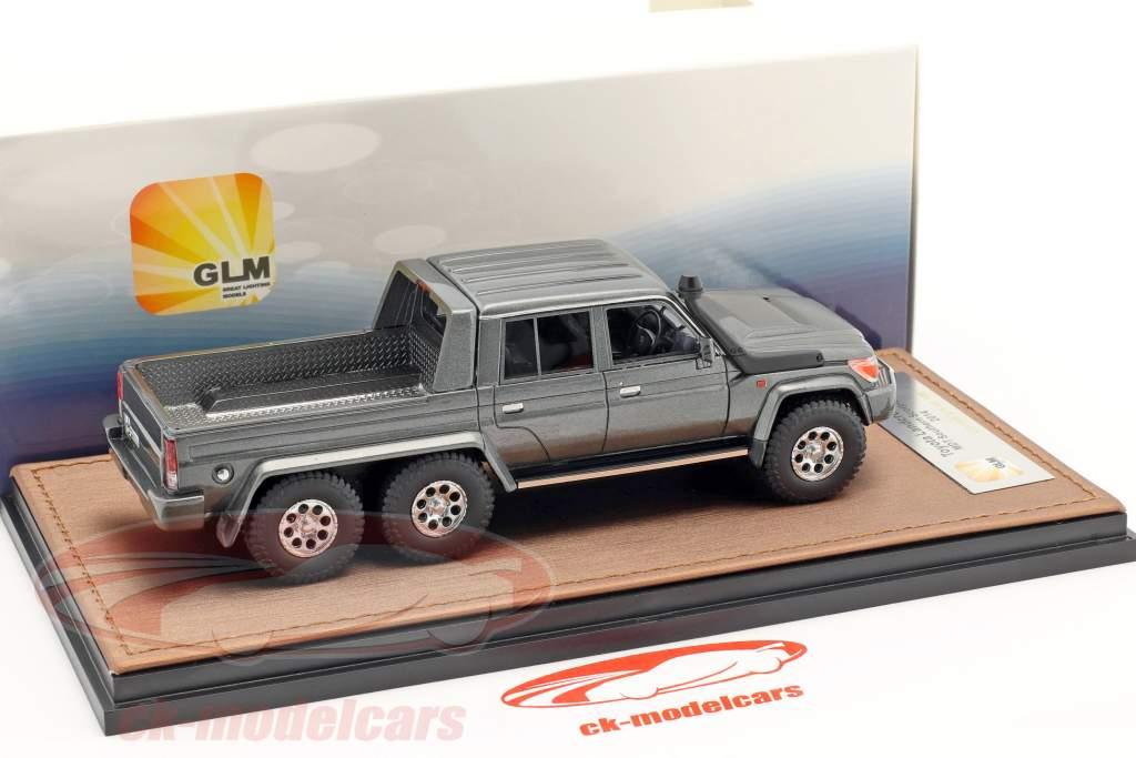 Toyota Landcruiser FJ79 MTD Southern Scorpion 6x6 year 2014 Gray metallic 1:43 GLM