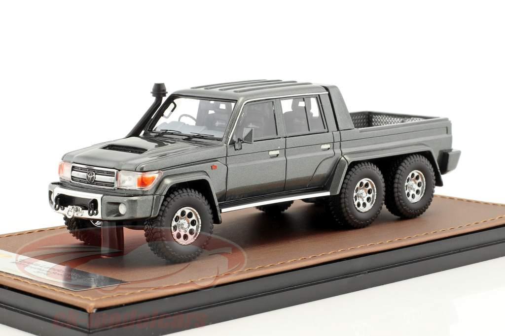 Toyota Landcruiser FJ79 MTD Southern Scorpion 6x6 anno di costruzione 2014 grigio metallico 1:43 GLM