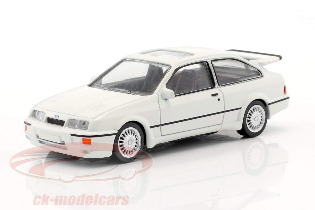 Ford Sierra RS Cosworth year 1986 Jet Car white 1:43 Norev