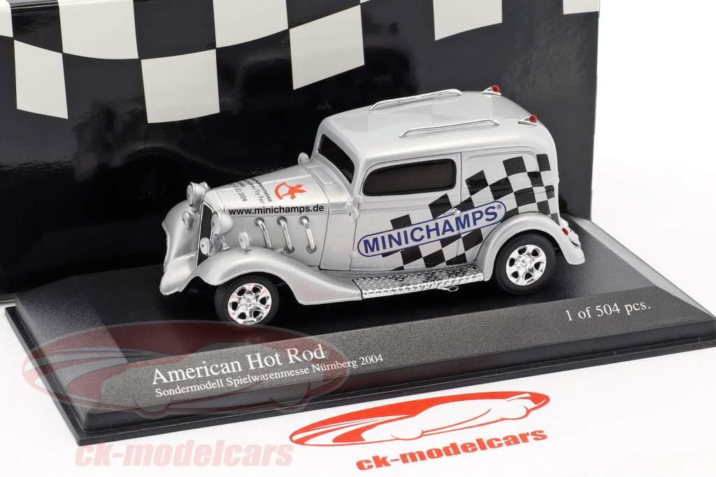 American Hot Rod édition spéciale Spielwarenmesse Nürnberg 2004 argent 1:43 Minichamps