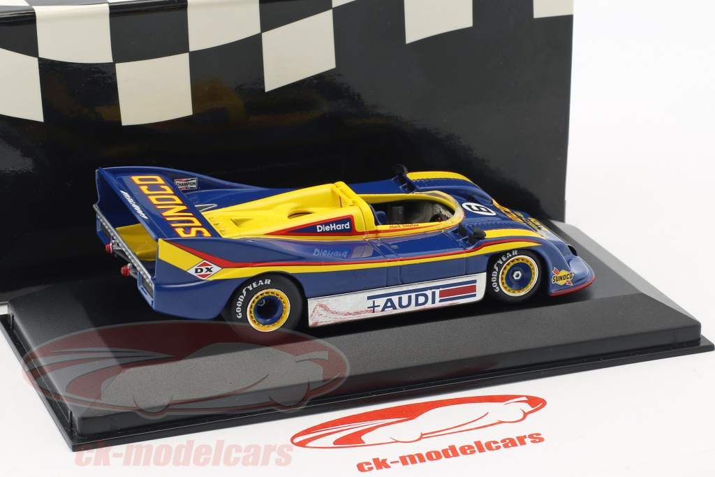 Porsche 917/30 #6 champion CanAm 1973 M. Donohue 1:43 Minichamps faux suremballage