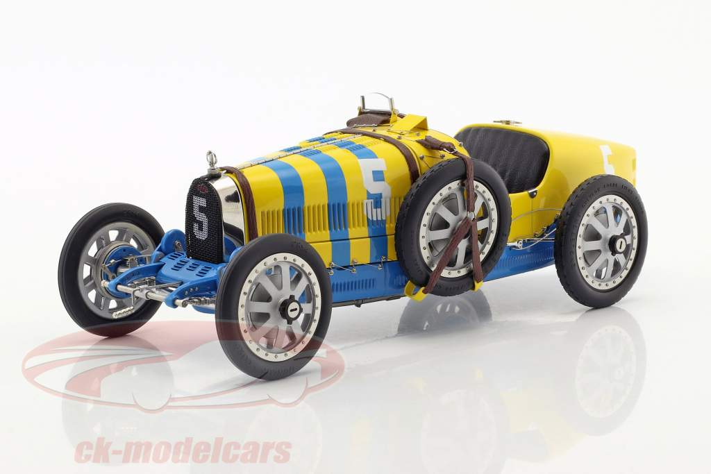 Bugatti Typ 35 Grand Prix #5 Nation Colour Project Schweden 1:18 CMC