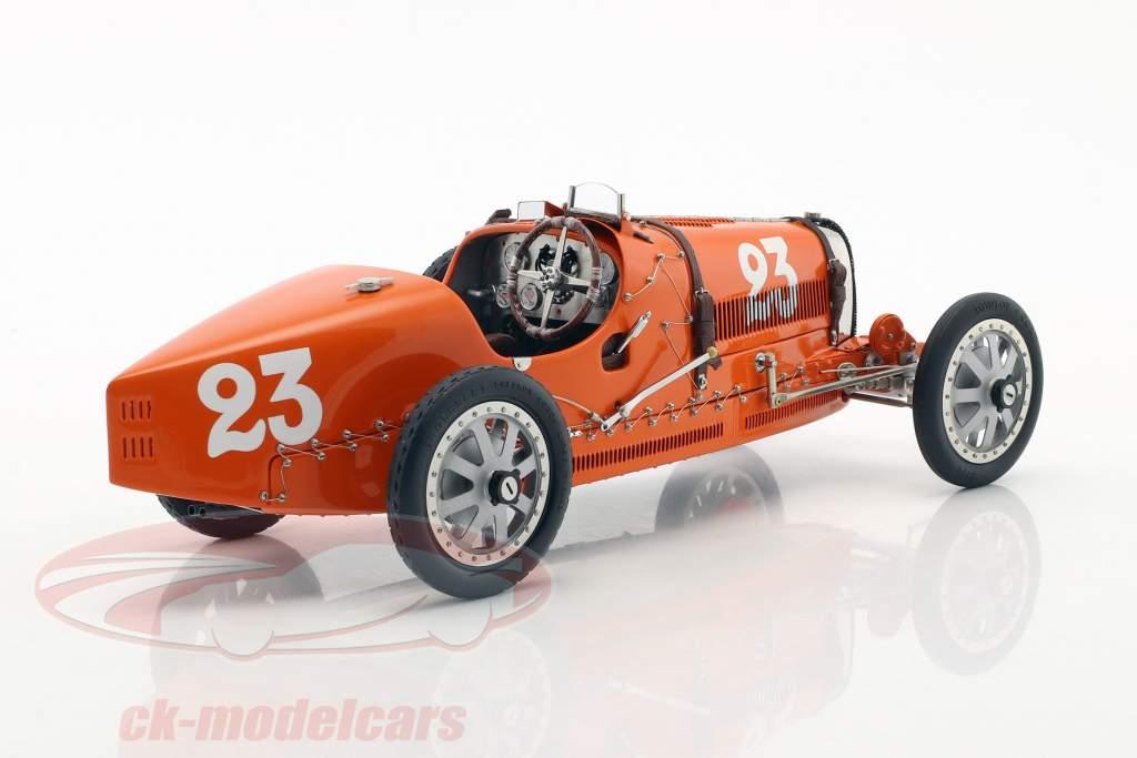 Bugatti type 35 Grand Prix #23 Nation Colour Project Pays-Bas 1:18 CMC