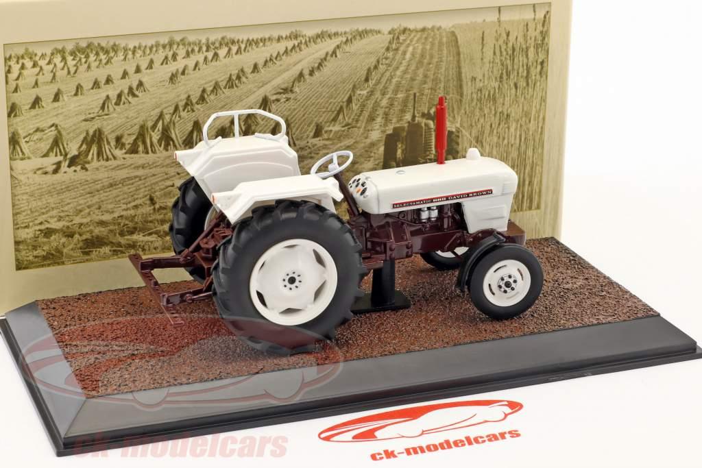 David Brown Selectamatic 880 tracteur année de construction 1969 blanc 1:32 Atlas
