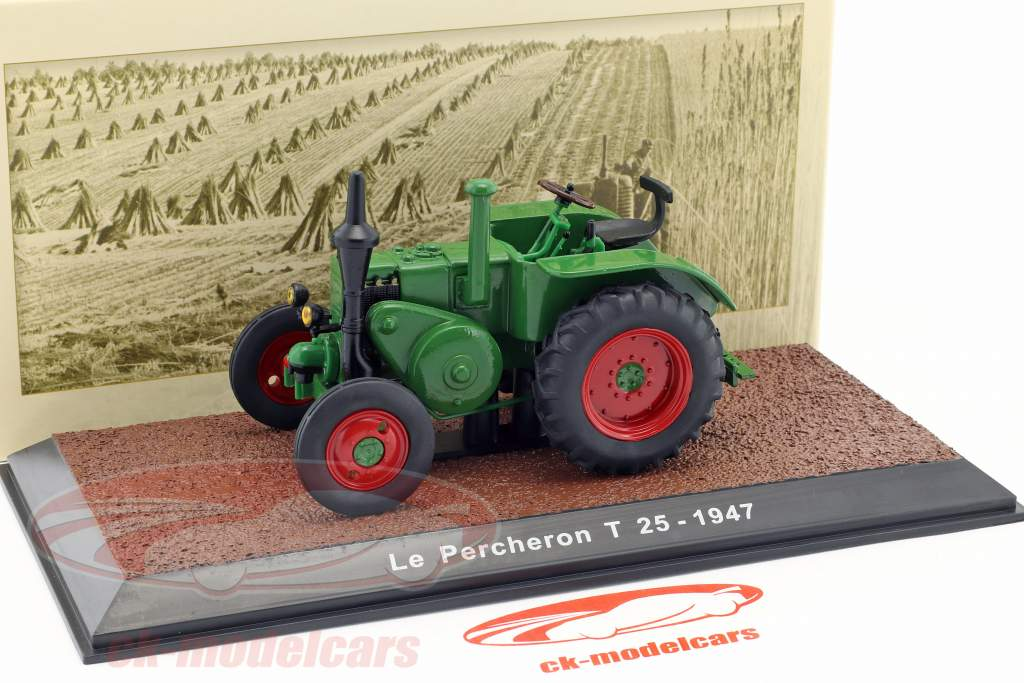 Le Percheron T 25 tractor  year 1947 green 1:32 Traktor