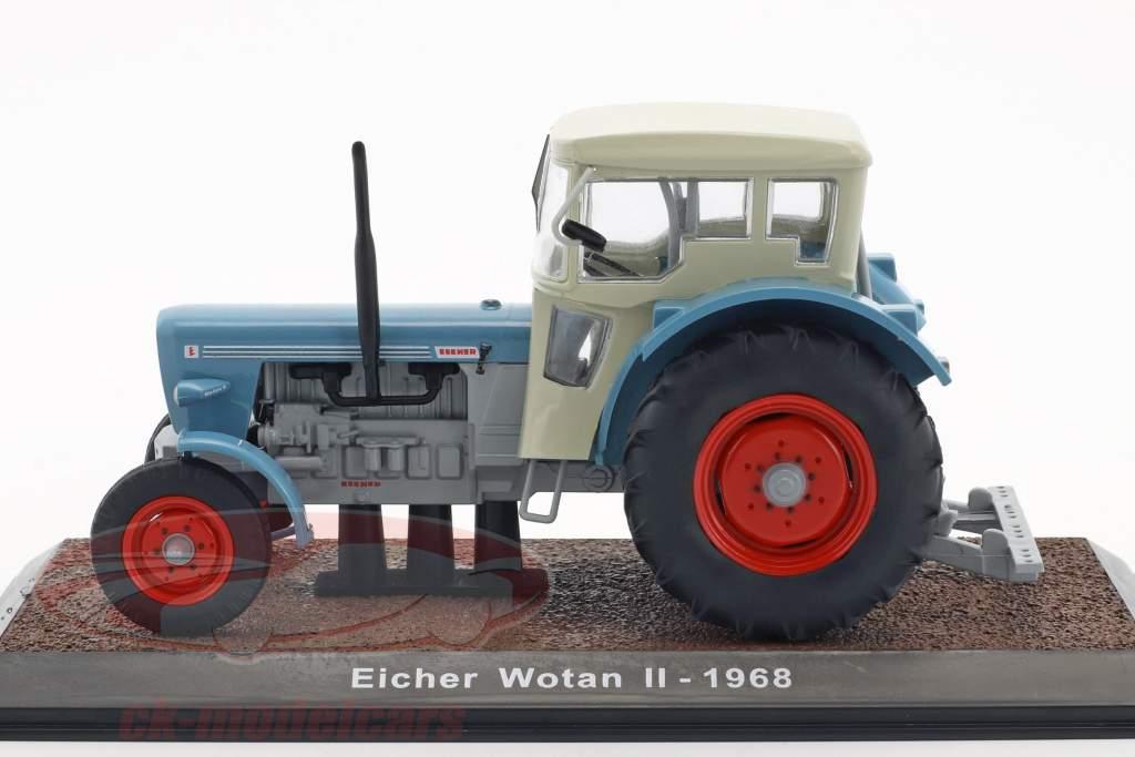 Eicher Wotan II année de construction 1968 bleu / blanc 1:32 Atlas