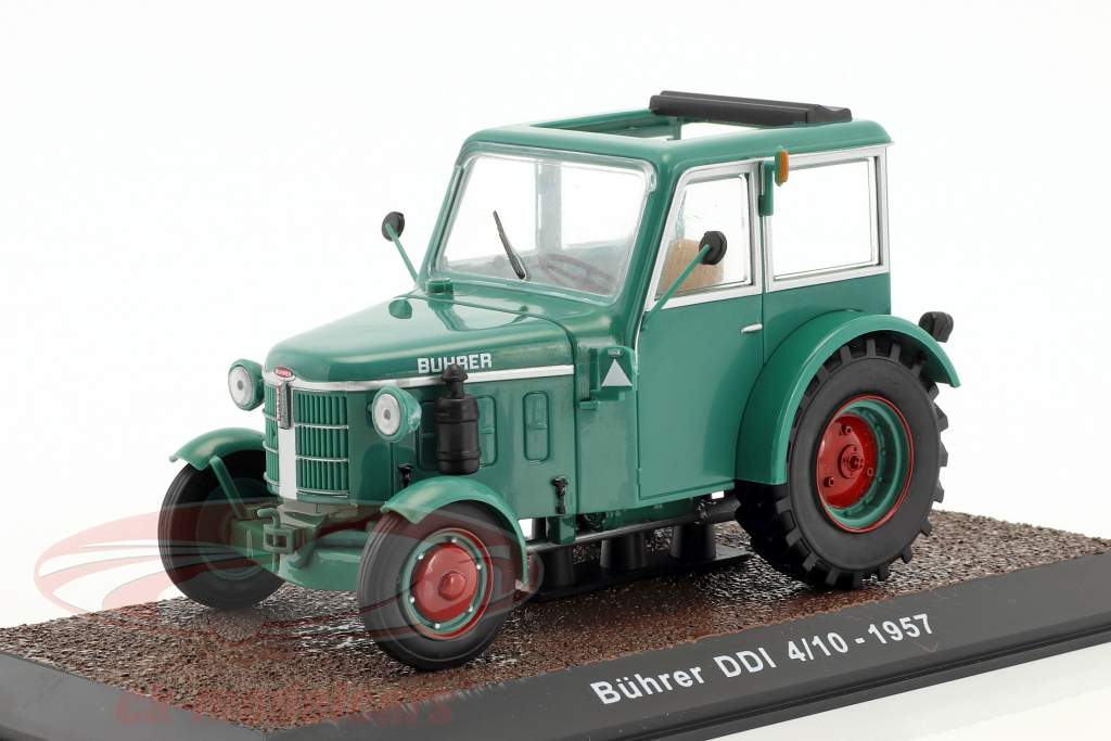 Bührer DDI 4/10 tractor year 1957 green 1:32 Atlas