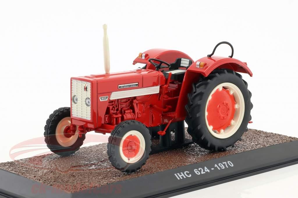 IHC 624 trattore anno di costruzione 1970 rosso 1:32 Atlas