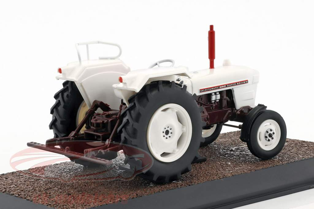 David Brown Selectamatic 880 tractor year 1969 White 1:32 Atlas