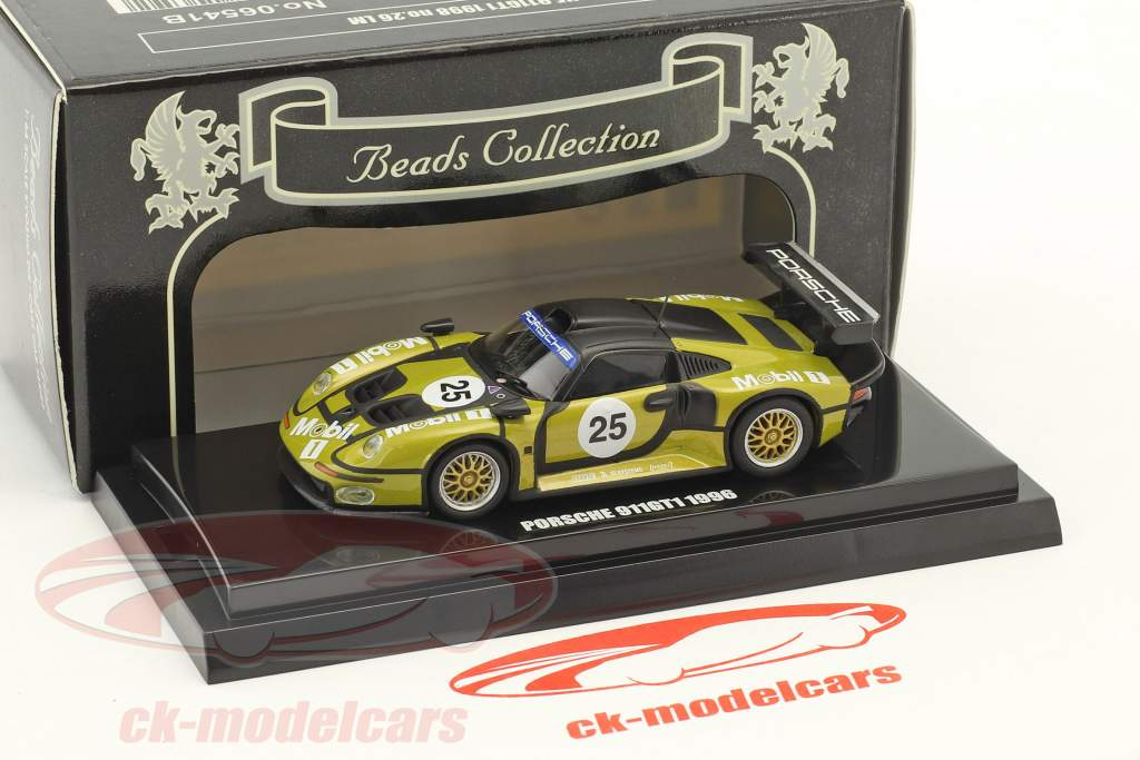 Porsche 911 GT1 #25 Pre-Qualifications 24h LeMans 1996 1:64 Kyosho
