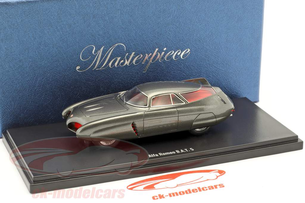 Alfa Romeo B.A.T 5 year 1953 dark gray 1:43 AutoCult