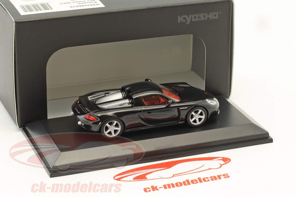 Porsche Carrera GT black 1:64 Kyosho