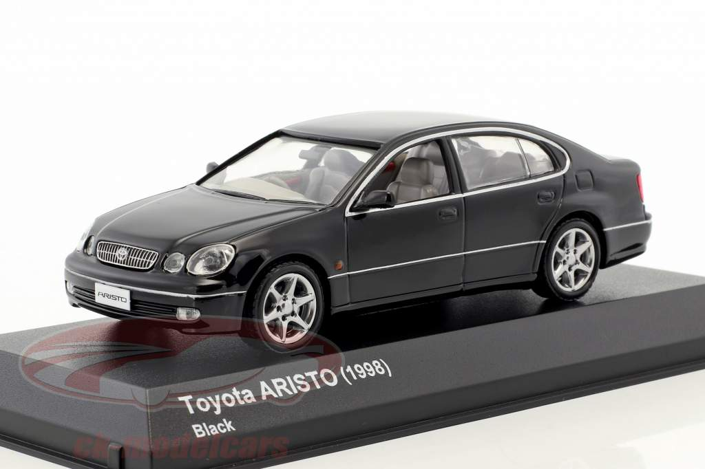 Toyota Aristo Baujahr 1998 schwarz 1:43 Kyosho