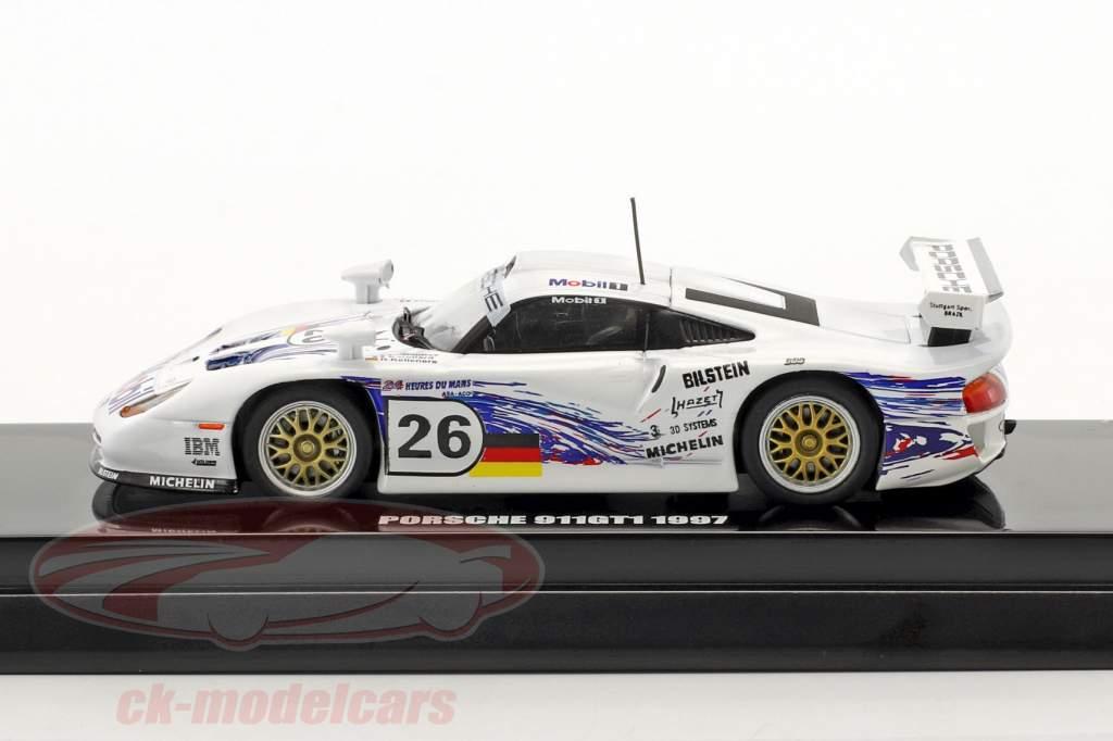 Porsche 911 GT1 #26 24h LeMans 1997 Collard, Kelleners, Dalmas 1:64 Kyosho