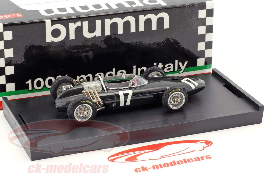 Graham Hill BRM P57 #17 Winner Netherlands GP World Champion formula 1 1962 1:43 Brumm