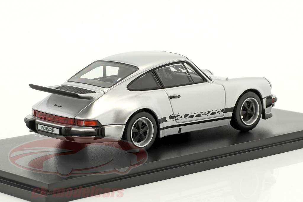 Porsche 911 Carrera 2.7 Year 1975 silver 1:43 Kyosho