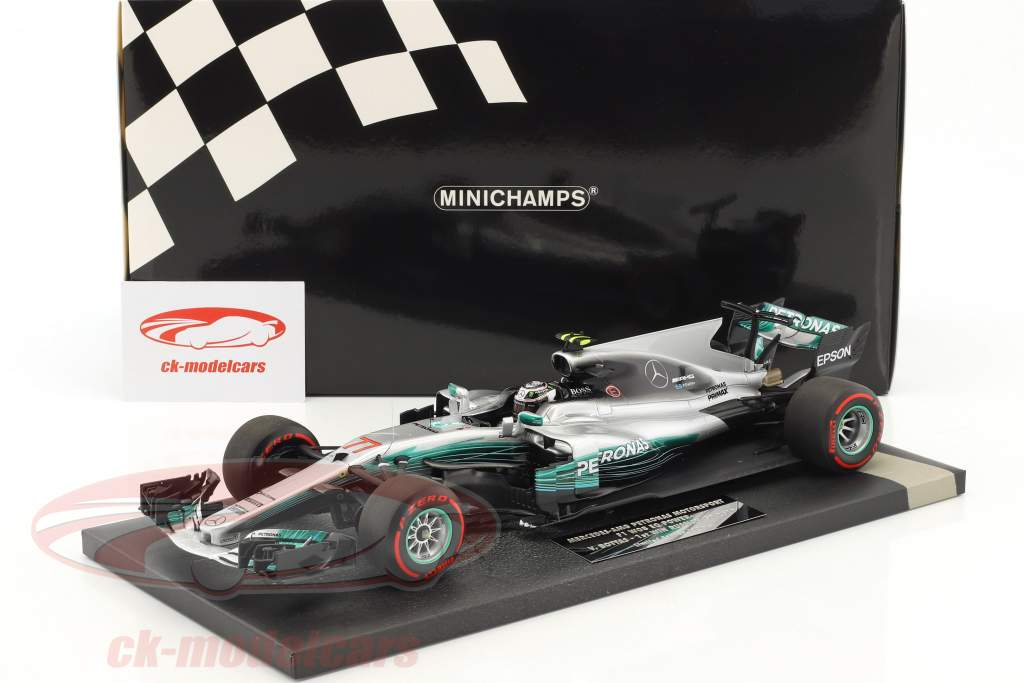 Valtteri Bottas Mercedes F1 W08 EQ Power+ #77 1st Win Russland GP  F1 2017 1:18 Minichamps