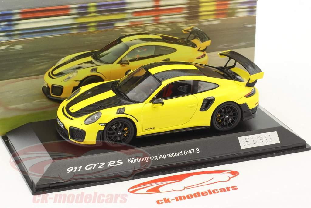 Porsche 911 (991 II) GT2 RS lap record Nürburgring 2017 6:47,3 min 1:43 Spark