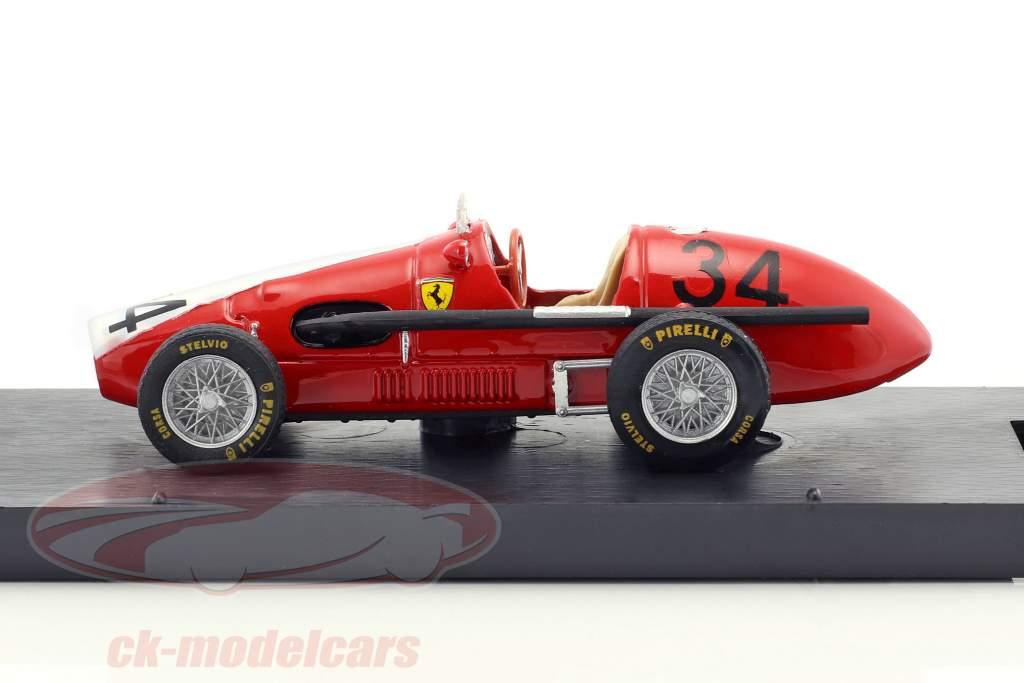 Kurt Adolff Ferrari 500 F2 #34 Germania GP Nürburgring formula 1 1953 1:43 Brumm
