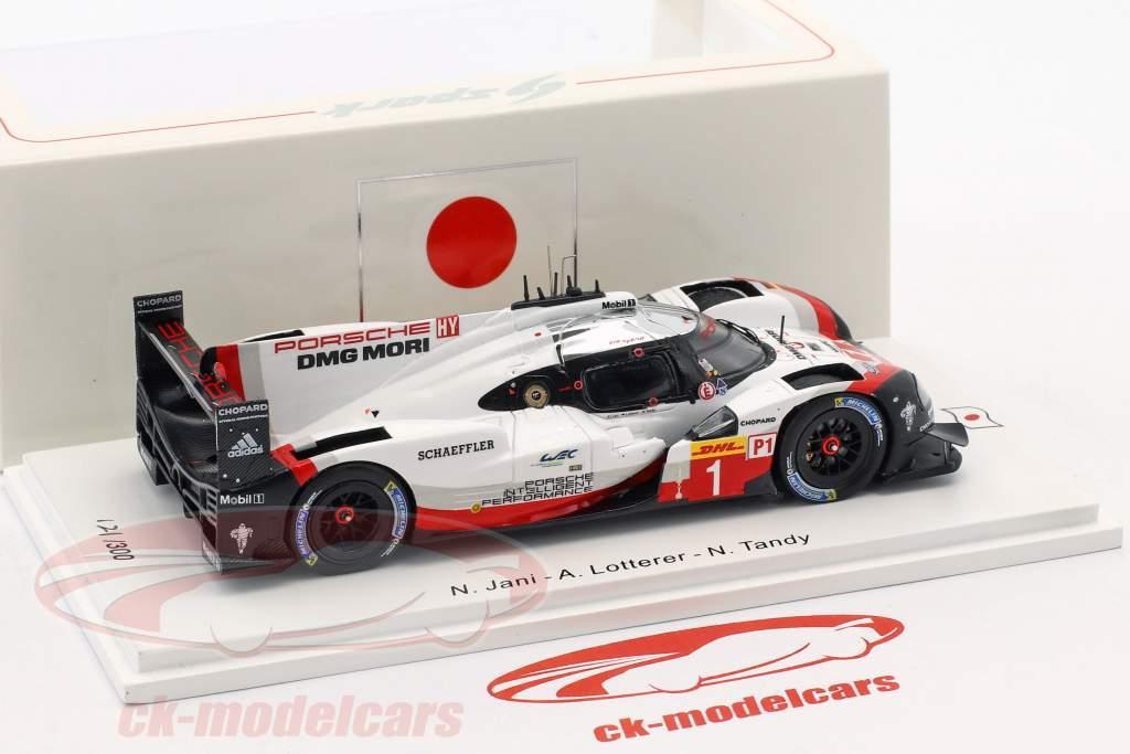 Porsche 919 Hybrid #1 3rd Fuji 2017 Jani, Lotterer, Tandy 1:43 Spark