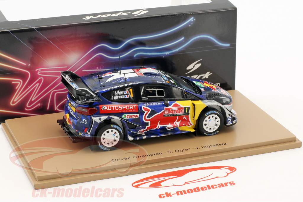 Ford Fiesta WRC #1 3rd Rallye Great Britain 2017 Ogier, Ingrassia 1:43 Spark