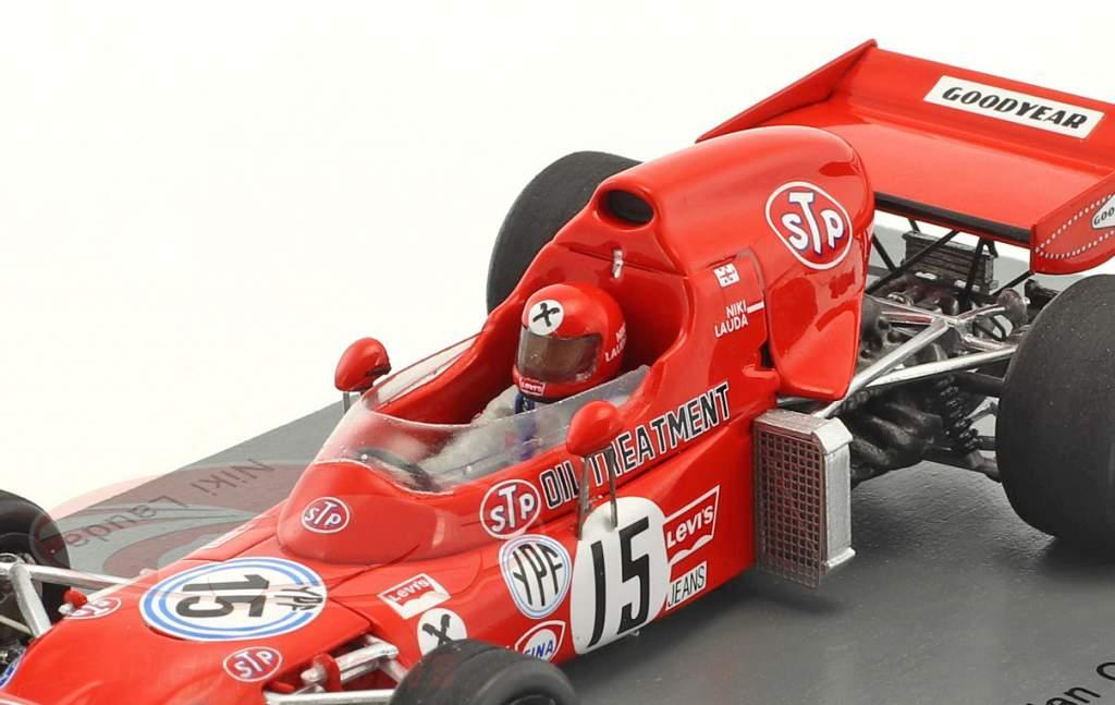 Niki Lauda March 721 #15 Argentina GP formula 1 1972 1:43 Spark