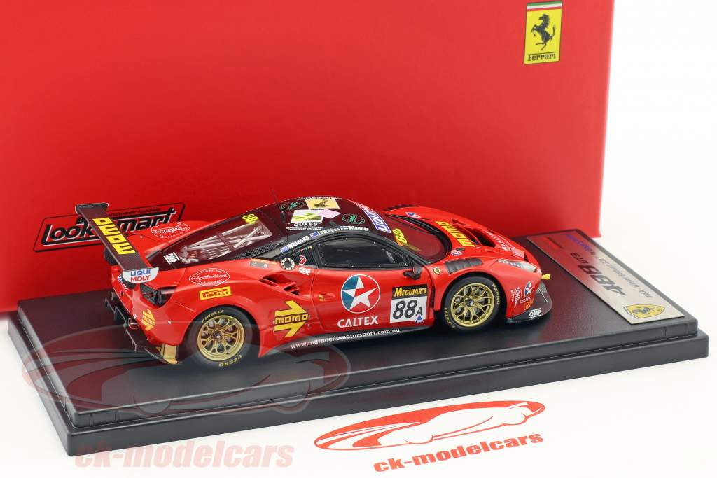 Ferrari 488 GT3 #88A Winner 12h Bathurst 2017 Maranello Motorsport 1:43 LookSmart
