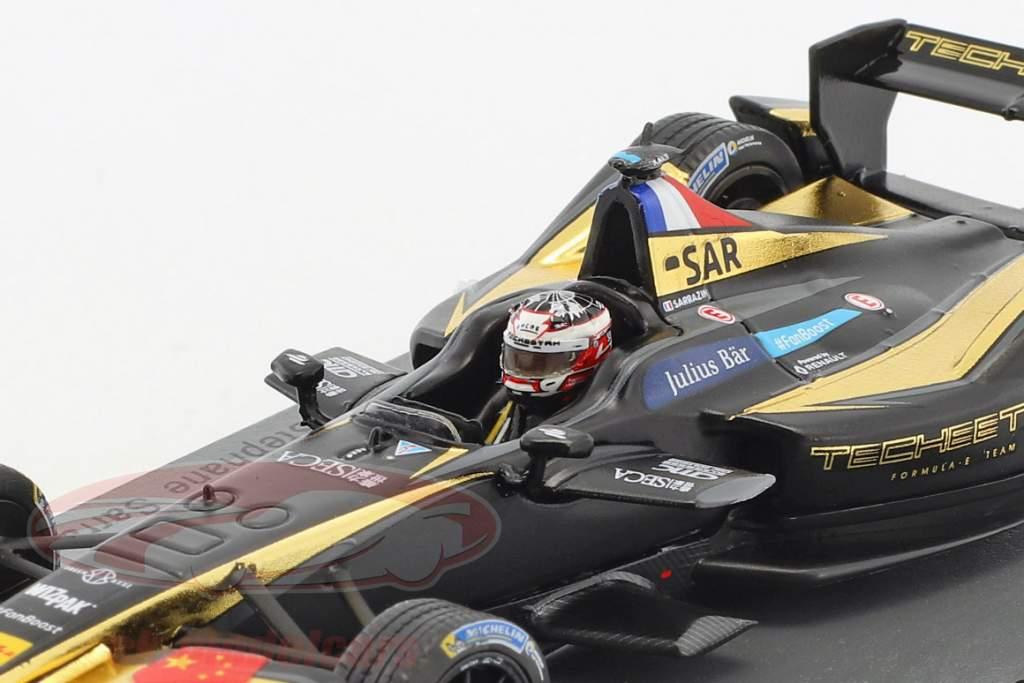 S. Sarrazin Techeetah Renault Z.E.16 #33 New York ePrix Formel E 2016/17 1:43 Spark