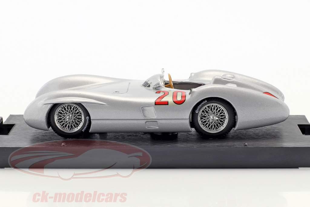 Karl Kling Mercedes W196C #20 2nd French GP formula 1 1954 1:43 Brumm
