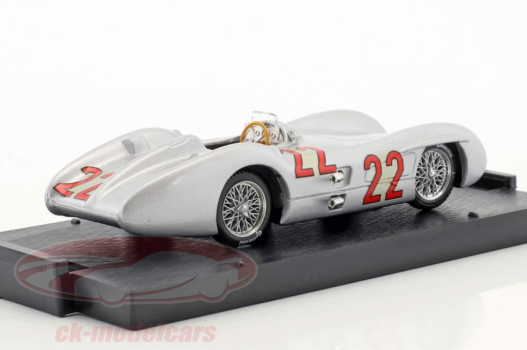 Hans Herrmann Mercedes W196C #22 French GP formula 1 1954 1:43 Brumm
