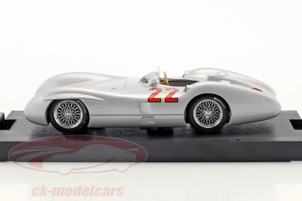 Hans Herrmann Mercedes W196C #22 Frankreich GP Formel 1 1954 1:43 Brumm