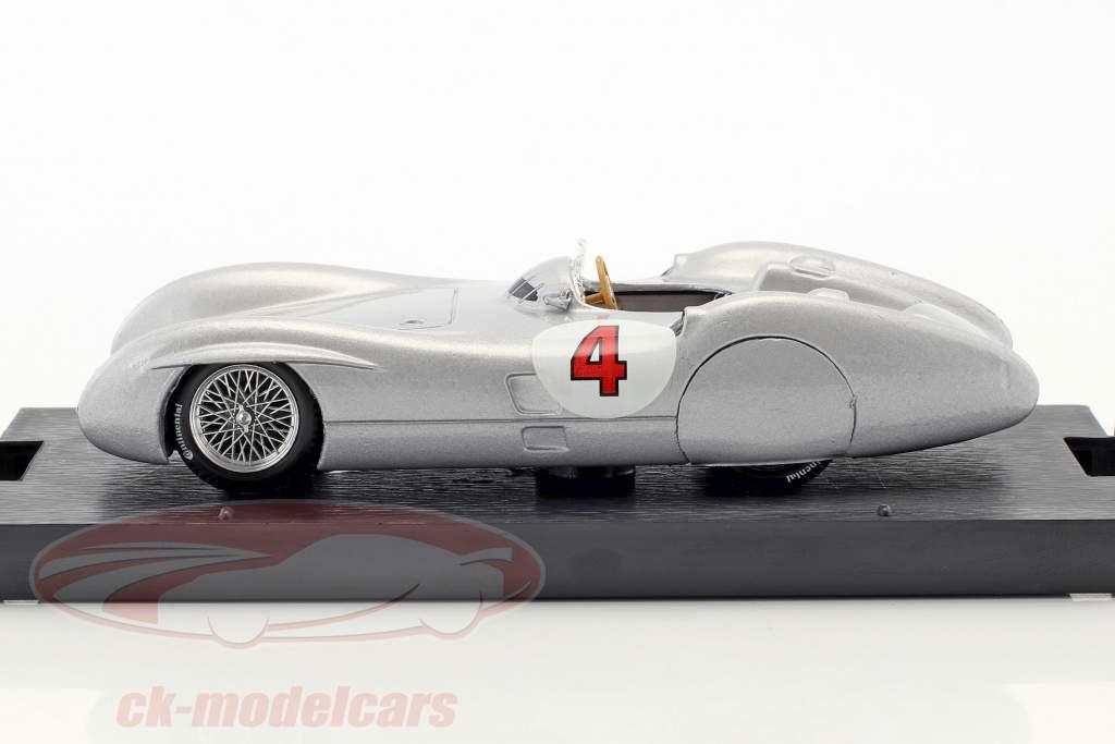 Karl Kling Mercedes W196C #4 prova Avus formula 1 1954 1:43 Brumm