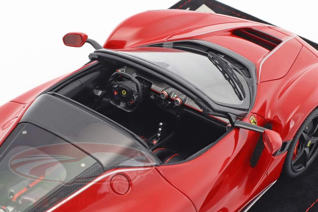 Ferrari LaFerrari Aperta Construction year 2016 corsa red 1:18 BBR