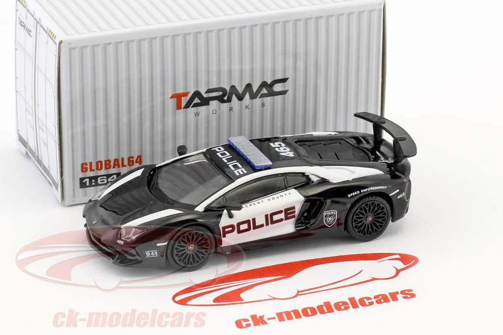 Lamborghini Aventador SV NFS Police 1:64 Tarmac Works