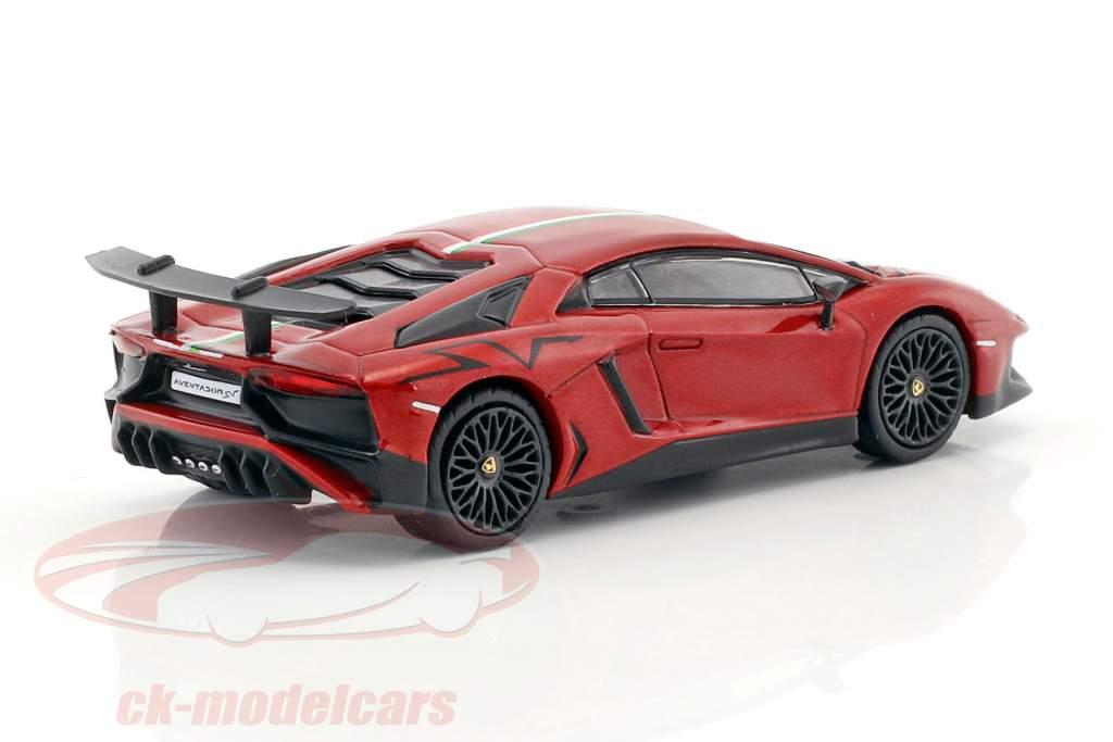 Lamborghini Aventador SV red 1:64 Tarmac Works